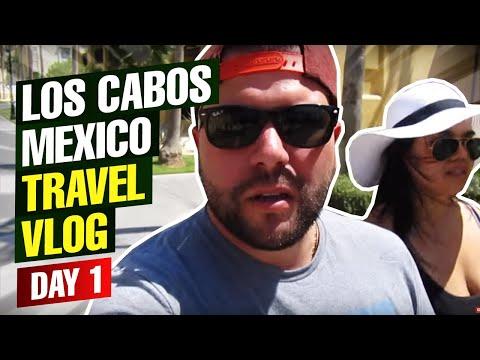 Los Cabos Mexico Travel Vlog Day 1