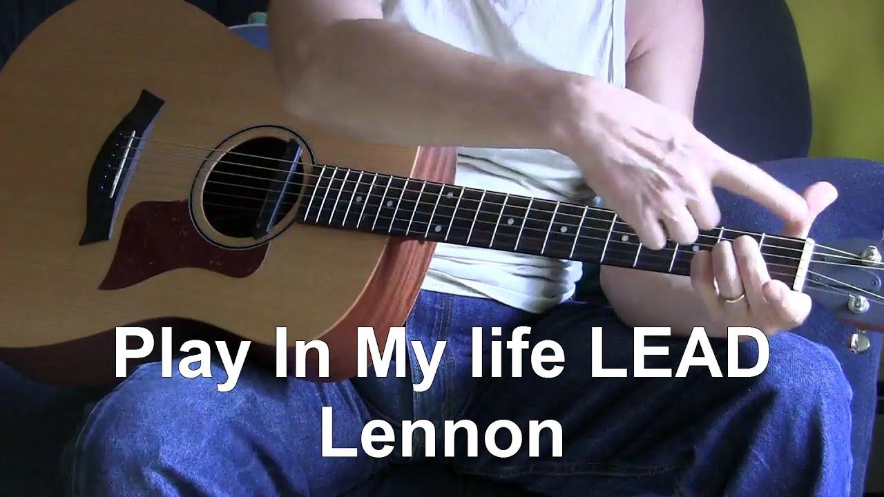 In My Life solo lesson solo lesson - Unleash the Guitar