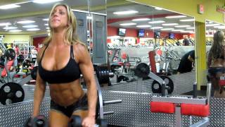 Training With Gina Trochiano:  Jersey Shore's One and Only IFBB Figure Pro