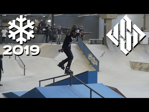 Winterclash 2019 WARM UP - RAW ❄ USD Skates