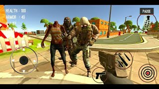 Zombie Killing City Shooting Trigger Strike Android Gameplay