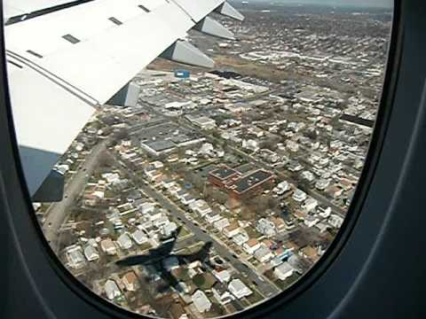 A380 Landeanflug New York JFK