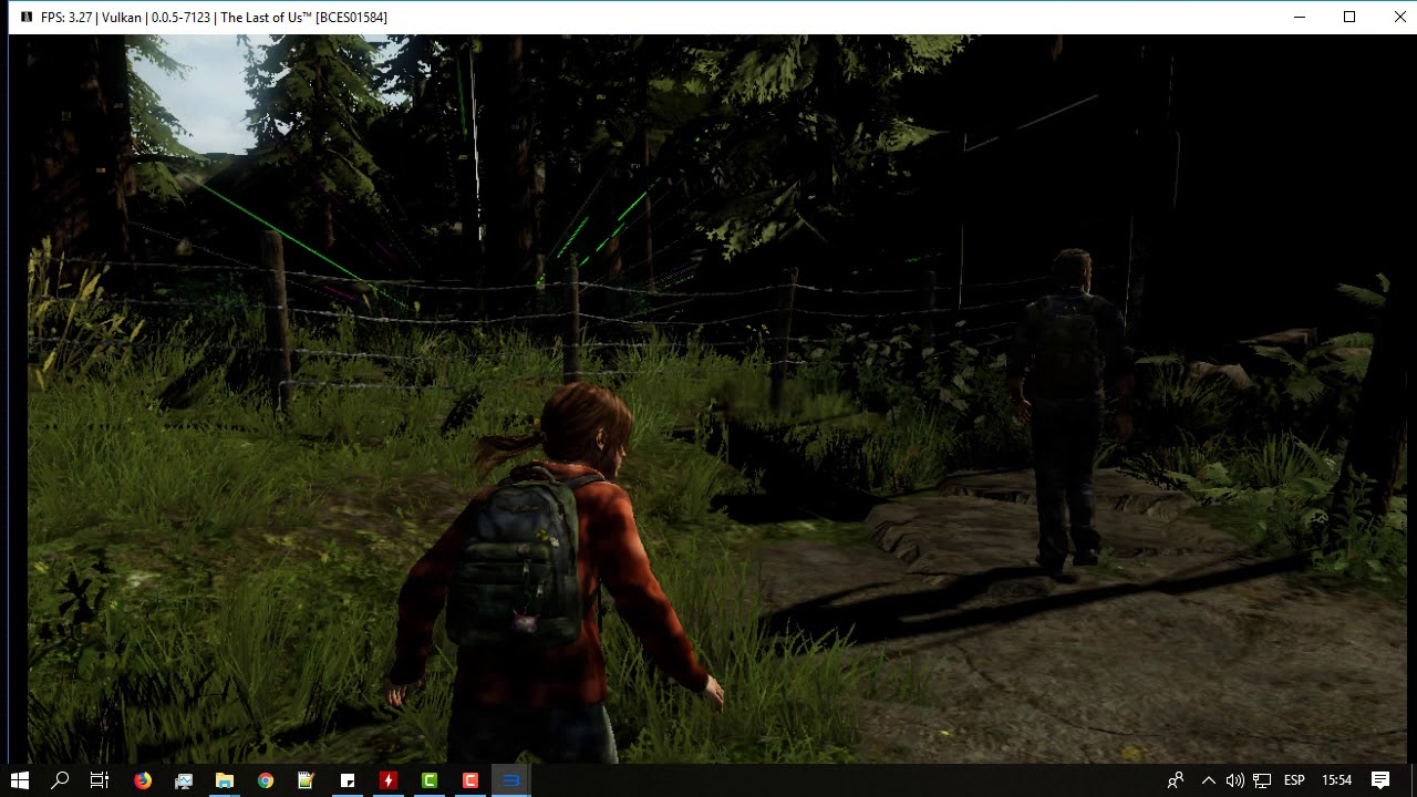 The Last Of Us on PC [RPCS3 | Test #1]