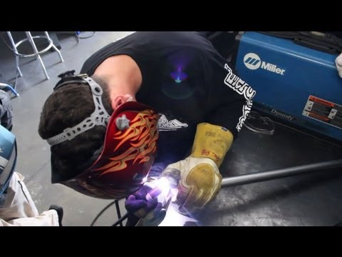 The Fab School: Creating nerf bars using Miller Dynasty 200 and Multimatic 200