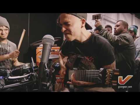 Brazil & Colombia Gruv Gear Artists live jam @ NAMM ft. Junior, Leonardo, & Bruno (Part 1)