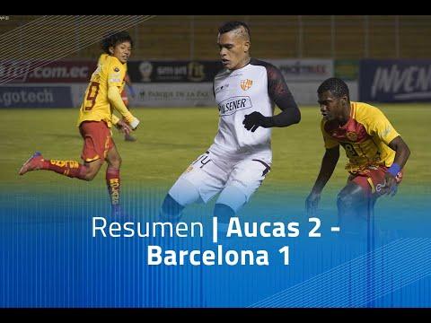Aucas Barcelona SC Goals And Highlights
