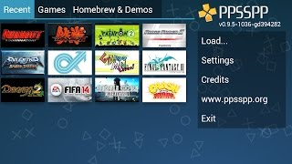 Play PSP Games on Android  (1GB Ram) PPSSPP