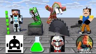 Monster School : SEASON 7 ALL EPISODE - Minecraft Animation