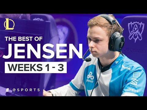 The Best of Jensen from Spring Split 2017 (Weeks 1-3)