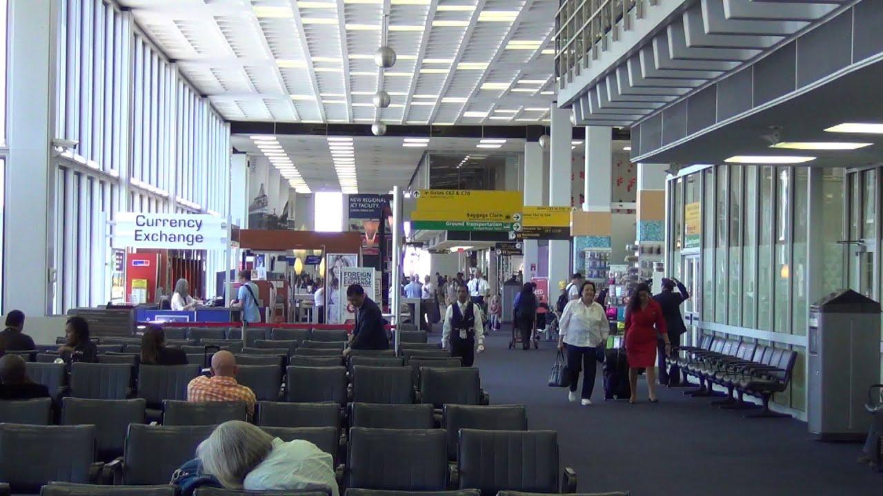 an hd tour of jfk international airport part 2 terminal 2 youtube