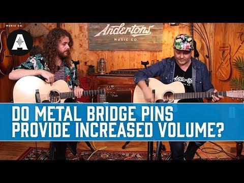 Martin Liquid Metal Bridge Pins! Are they worth it?