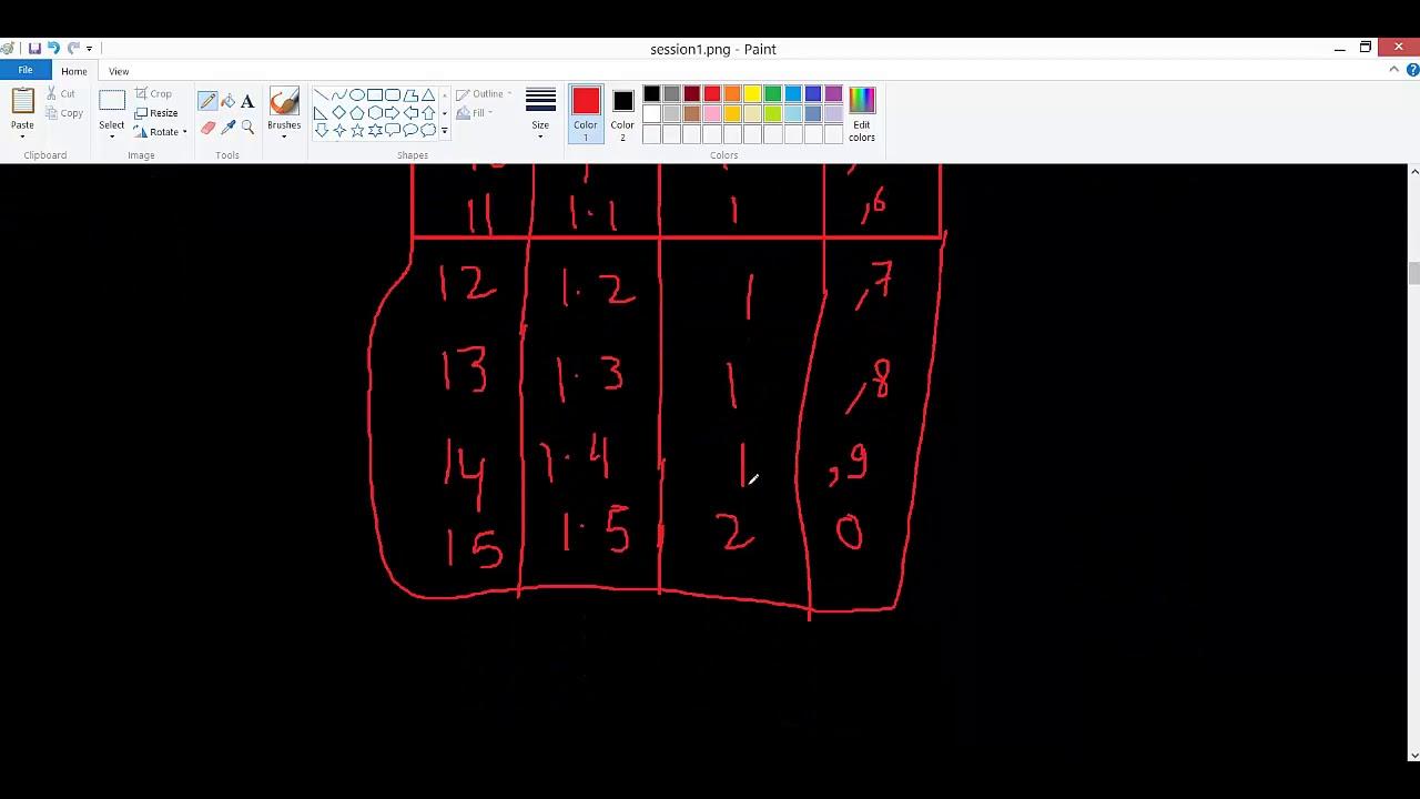 Bresenham Line Drawing Algorithm Code : Bresenham's line drawing algorithm s2 pb1 youtube
