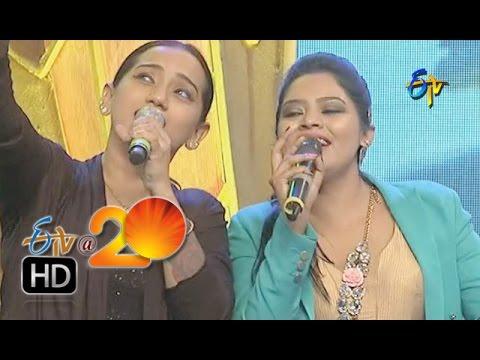 Kalpana, Prasad, Performance - Sir Osthara Song in Warangal ETV @ 20 Celebrations