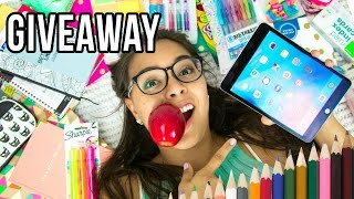 Massive Back to School Giveaway