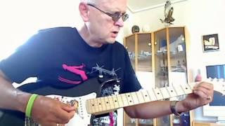 Boom Boom, John Lee Hooker/ The Animals - Lesson by Roger