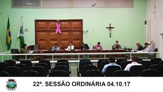 Sessão da Câmara 04.10.17