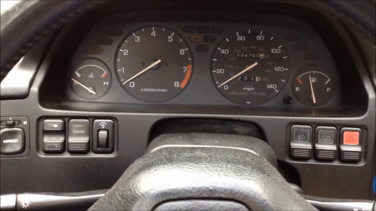 19901993 Acura Integra Bad Ignition Switch Symptoms Fix YouTube