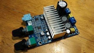Усилитель сабвуфера 100 Вт DC12-24V TPA3116 - Тест, обзор (с алиэкспресс)