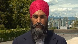 """We've got serious solutions"": NDP Leader Jagmeet Singh discusses his party's election platform"
