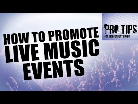 How to Promote Music Events [PTfIB]