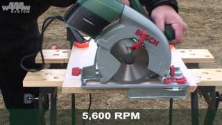 Bosch PKS 55 A Mitre Saw - w444w ENG