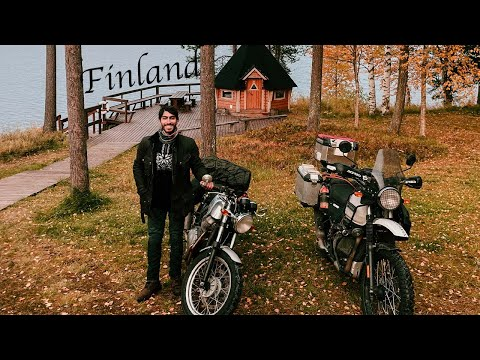 Crossing the boarder to Finland | Cafe Racer Adventure Series |  Episode 7