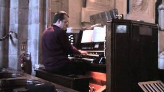 "Organist Rob Charles Plays The Hymn ""The Lords My Shepherd"" Tune Crimond"