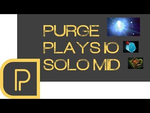 Dota 2 Purge plays Io mid