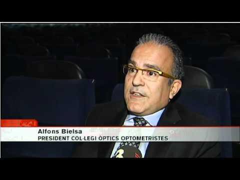 Notícia emesa per TV3 el 26 d'octubre en referència a la Campanya Viu en 3D