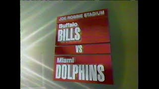1991-11-18 Buffalo Bills vs Miami Dolphins