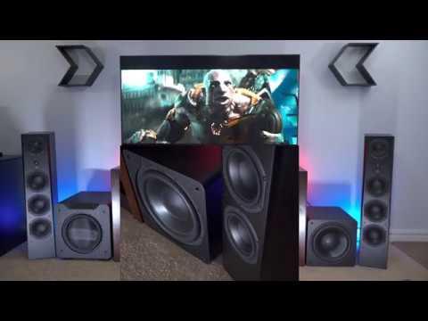 SVS Prime Pinnacle Speakers + SB3000 Subwoofer Movie Demo [4K HDR]