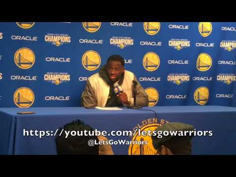 "Entire DRAYMOND postgame: Steph Curry says, ""I ain't picking him"" + Durant/ref"