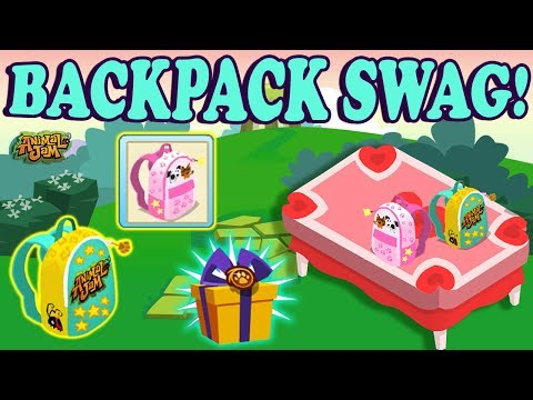 NEW Den Promo Animal Jam Backpacks are Super Swaggy!!! 🌟