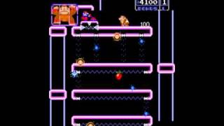 Donkey Kong Jr. (Arcade) Gameplay