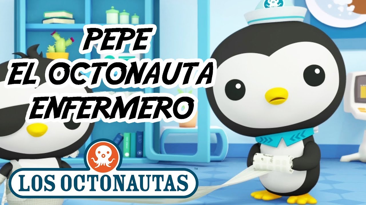 Los Octonautas Oficial en Español - Pepe El Octonauta Enfermero | Mejores Momentos De Pepe