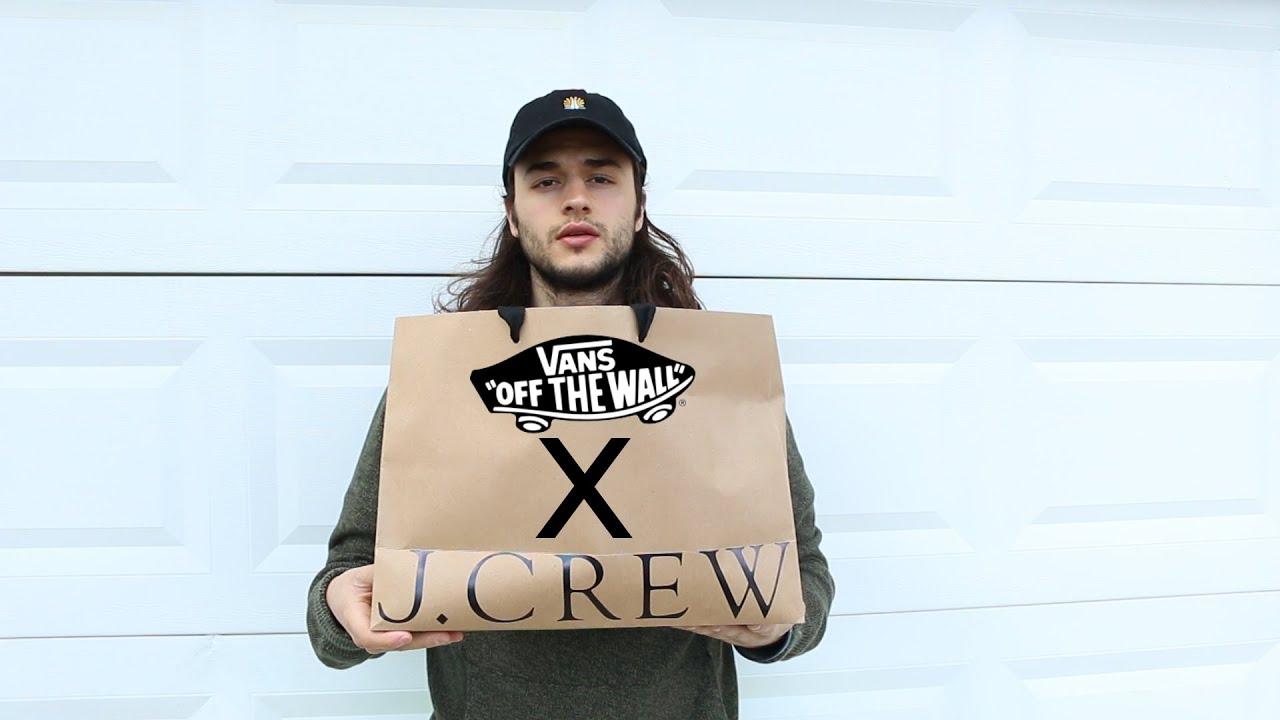 d41ab45f0b6f J.Crew  x  Vans  - YouTube