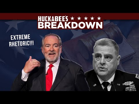 General Mark Milley's EXTREME Rhetoric Spells Disaster! | Breakdown | Huckabee