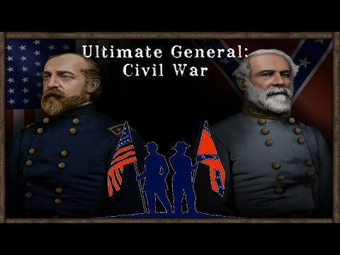 REALISTIC LINE BATTLES - Ultimate General: Civil War [Confederacy] (Early Access) Part 1