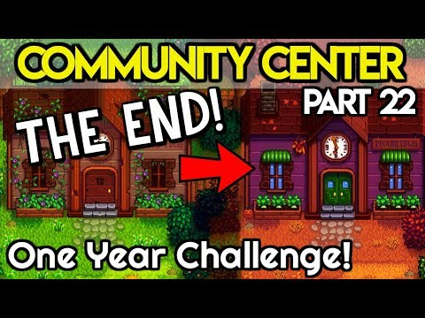 🏆Community Center ONE Year Challenge FINALE!🏆 - *THE LAST ITEM NEEDED!?* - Stardew Valley
