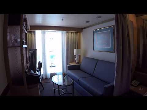Holland America Zaandam Cabin 7036 Vista Suite Video Tour