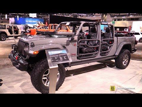 2020 Jeep Gladiator Mopar Accessorized - Exterior Interior Walkaround - Debut at 2018 LA Auto Show
