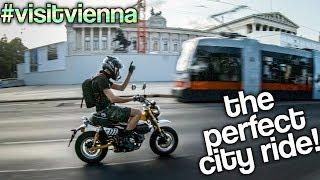 VIENNA SIGHTSEEING on a Honda Monkey