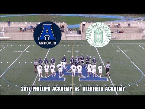 2017 Phillips Academy Andover Lacrosse vs  Deerfield Academy
