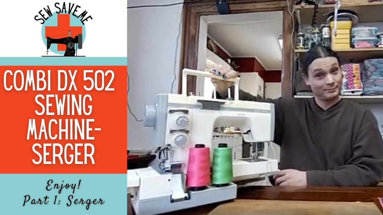 Combi Dx 502 Overlock Side Singer 401 Sewing Machine Threading Diagram
