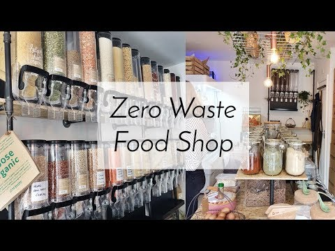 Zero Waste Shopping and Vegan Food Market | Vlog #18