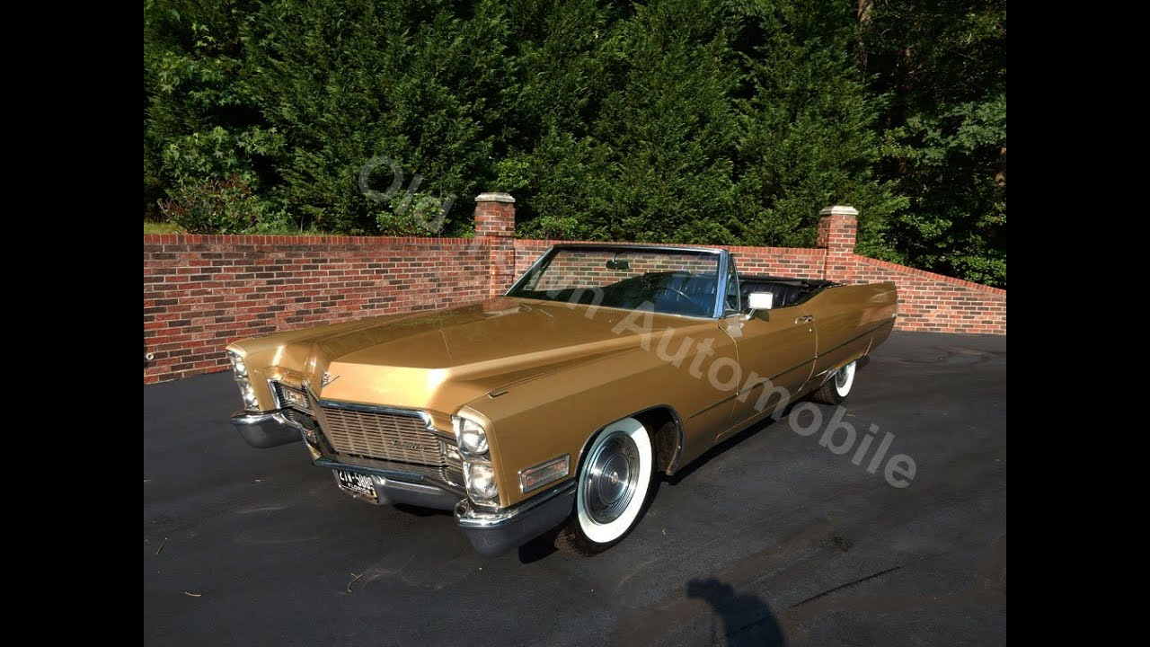 1968 Cadillac DeVille Convertible for sale Old Town Automobile in ...