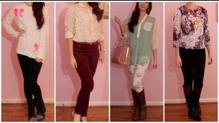 Outfits of the Week: October 1-5