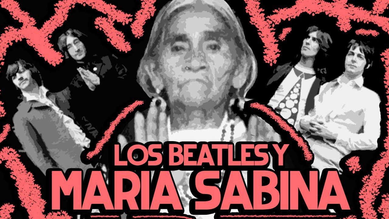 EL DÍA QUE LOS BEATLES VISITARON A MARIA SABINA