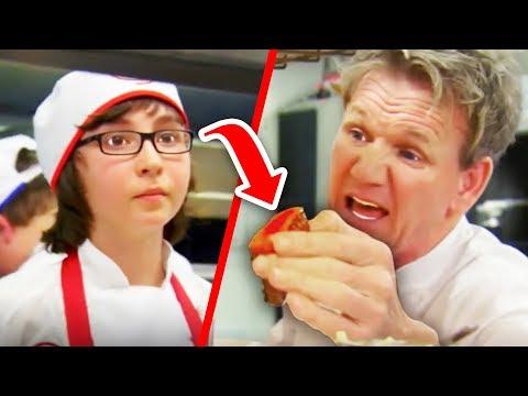 Top 10 Gordon Ramsay RAW Food Freak Outs