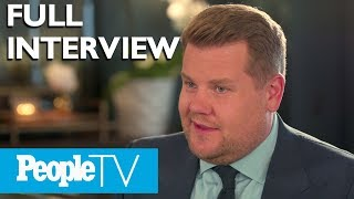James Corden On Carpool Karaoke, His Family & More (Full) | PeopleTV | Entertainment Weekly